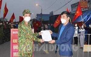 Hải Dương: Dỡ bỏ phong tỏa, cách ly y tế thêm 4 thôn ở xã Nam Tân