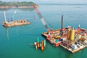 Quảng Ninh tăng tốc thi công cao tốc Vân Đồn - Móng Cái