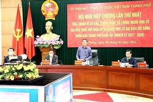 Hải Phòng: Thành lập các Ban Bầu cử đại biểu Quốc hội, đại biểu HĐND các cấp