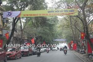 Hải Phòng: Phát động phong trào thi đua tổ chức bầu cử