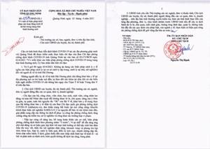 Người từ Hải Dương đến Quảng Ninh không phải cách ly y tế từ ngày 3/4