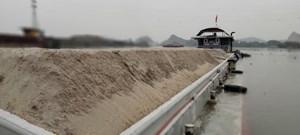 Quảng Ninh: Xử phạt vụ vận chuyển hơn 500m3 cát không có giấy tờ