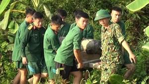 Hải Phòng: Quả bom 250 kg nằm trong ao nhà dân