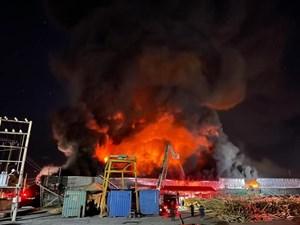 Quảng Ninh: 'Hé lộ' nguyên nhân về vụ hỏa hoạn tại xưởng phụ tùng xe tải