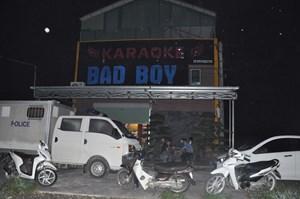 Hải Dương: Phát hiện 48 người sử dụng trái phép ma túy tại quán karaoke