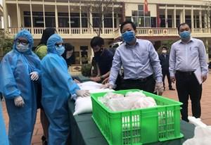Hỗ trợ trực tiếp đợt 1 cho người Hải Phòng gặp khó tại TP Hồ Chí Minh