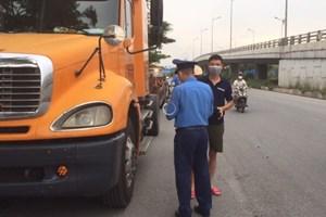 Hải Phòng: Tăng cường kiểm tra xe quá khổ, quá tải