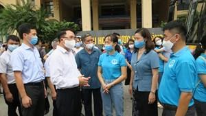 Hải Phòng: 208 bác sĩ, thầy cô và sinh viên ĐH Y Dược chi viện cho TP Hồ Chí Minh