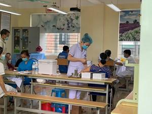 Quảng Ninh đứng thứ 6 toàn quốc về tỷ lệ tiêm chủng vaccine