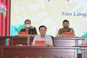 Chủ tịch Quốc hội Vương Đình Huệ: Xem xét cơ chế đặc thù cho một số tỉnh, thành phố