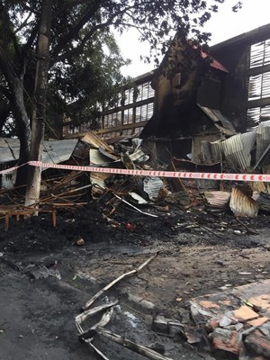 Hải Phòng: Vụ cháy chợ Núi Đèo thiệt hại khoảng 50 tỷ