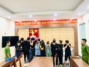 Quảng Ninh: Tạm giữ 12 đối tượng có hành vi lừa đảo, chiếm đoạt tài sản