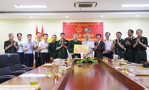 Quảng Ninh: Hội Cựu chiến binh tiếp nhận hơn 500 triệu đồng ủng hộ đồng bào miền Trung