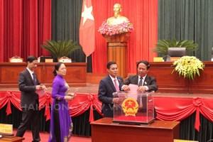 Hải Phòng: Bầu bổ sung 2 Phó Chủ tịch UBND thành phố