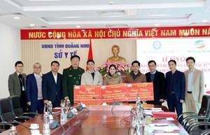 Viettel bàn giao thiết bị khám chữa bệnh từ xa 3 địa phương của tỉnh Quảng Ninh