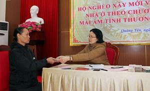 Quảng Ninh: Trao 770 triệu đồng hỗ trợ 22 hộ nghèo xây, sửa nhà