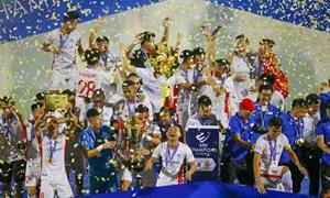 V.League 2021: Chắp thêm cánh với nhà tài trợ quen thuộc