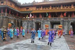 Lần đầu tiên tái hiện lễ Ban Sóc dưới triều nhà Nguyễn
