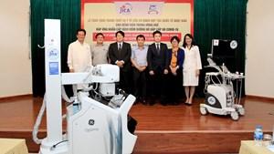 Tổ chức JICA trao tặng máy ECMO cho bệnh viện TW Huế phòng chống dịch Covid - 19