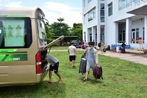 Thừa Thiên - Huế: Đón 20 công dân về địa phương cách ly