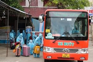 [Ảnh] Chuyến tàu đưa công dân Thừa Thiên - Huế từ TP HCM về quê tránh dịch