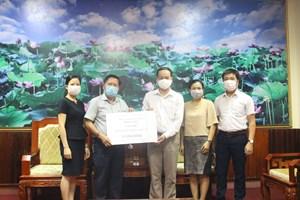 Quảng Trị: Nhiều cá nhân, tổ chức ủng hộ phòng, chống dịch