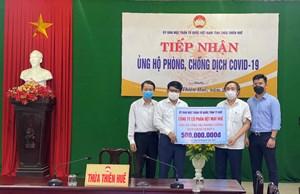 Thừa Thiên-Huế: Tiếp nhận ủng hộ bà con đồng hương tại các tỉnh, thành phía Nam