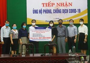 Thừa Thiên-Huế: Tiếp nhận nhiều vật tư y tế phòng, chống dịch