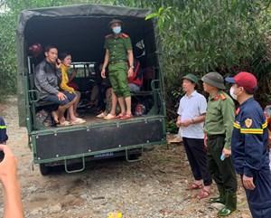 Tiếp cận Thủy điện Rào Trăng 4: Cứu 19 người, tìm thấy 1 thi thể