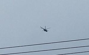 Trực thăng đã tiếp cận được khu vực Thủy điện Rào Trăng 3