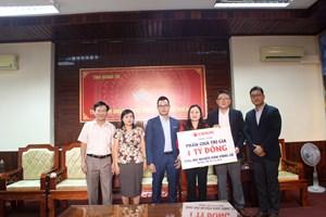 Tập đoàn ORION ủng hộ phần quà trị giá 1 tỷ đồng cho học sinh Quảng Trị
