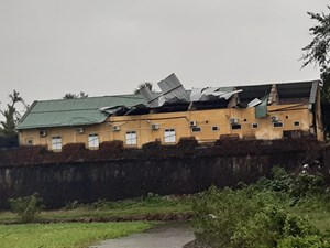 Hình ảnh thiệt hại ban đầu tại Thừa Thiên-Huế do bão Vamco
