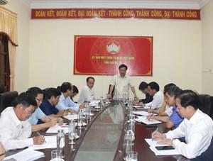Quảng Trị: Bàn phương án hỗ trợ sinh kế cho người dân bị ảnh hưởng bởi bão lũ