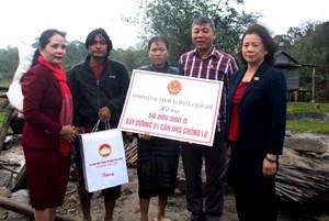 UB về các vấn đề xã hội của QH hỗ trợ người dân bị thiệt hại do bão tại Quảng Trị