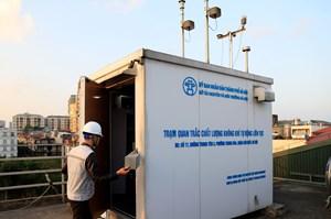 Thêm 15 trạm quan trắc môi trường không khí cố định ở Hà Nội