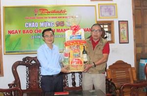MTTQ tỉnh Quảng Nam chúc Tết VP báo Đại Đoàn Kết tại Quảng Nam, Quảng Ngãi