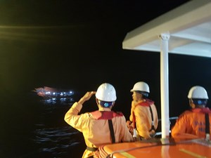Quảng Nam: Tìm thấy ngư dân mất tích trên biển