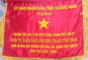 Tam Kỳ (Quảng Nam): Trường Tiểu học Trần Quốc Toản cánh chim đầu đàn 'Dạy tốt- Học tốt'