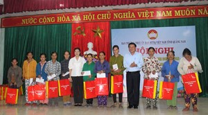 Quảng Nam: Thực hiện hiệu quả việc giảm nghèo bền vững