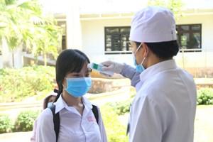 Quảng Nam: Học sinh được đến trường để kiểm tra học kỳ II