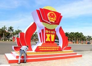 Tam Kỳ (Quảng Nam) 'khoác áo mới' đón chào Ngày hội toàn dân