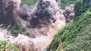 [VIDEO] Đánh sập 75 hầm vàng trái phép ở Vườn quốc gia  Sông Thanh
