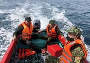 Quảng Nam: Đang tìm kiếm một ngư dân mất tích trên biển