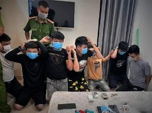 Quảng Nam: 9 thanh niên tụ tập trong homestay sử dụng ma túy