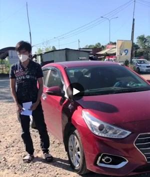Phát hiện ô tô chở 4 người từ TP HCM về Quảng Nam