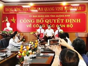 Quảng Nam: Bổ nhiệm 2 Phó Giám đốc Sở Y tế