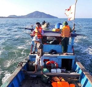 Quảng Nam: Ngư dân mất tích trên biển