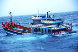 Cảnh sát biển vùng 2 cứu hộ thành công 18 thuyền viên gặp nạn trên biển
