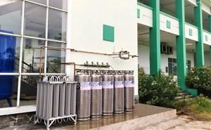 THACO trao tặng hệ thống oxy lỏng và khí nén cho tỉnh Quảng Nam