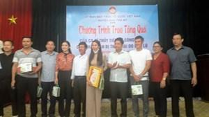Quảng Nam: Xác minh hoạt động từ thiện của ca sĩ Thủy Tiên